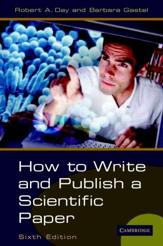 How to Write and Publish a Scientific Paper pdf epub