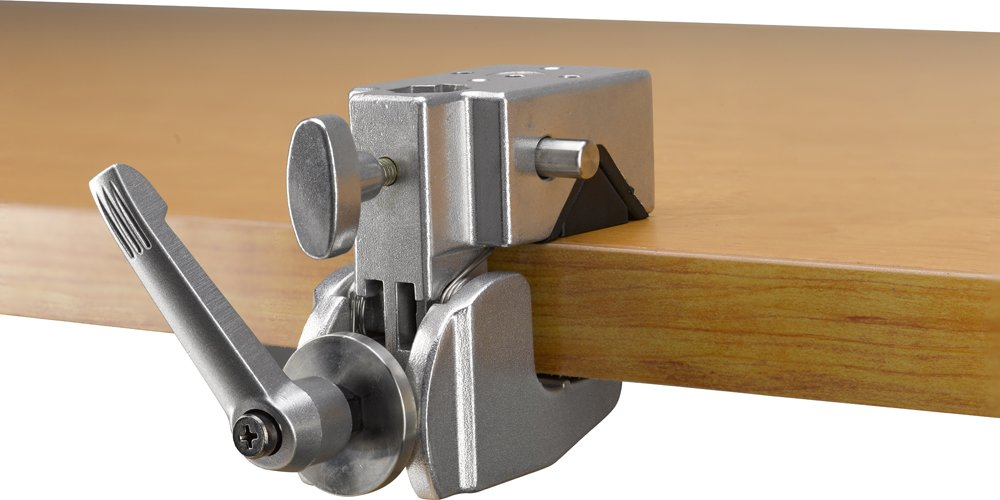Kupo Convi Clamp with Adjustable Handle - Silver, KG701712