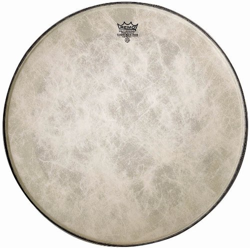 (Remo Powerstroke P3 Fiberskyn Bass Drumhead, 22
