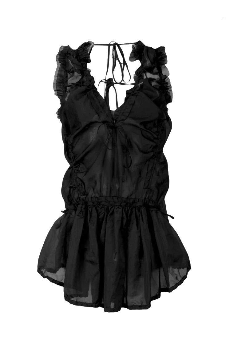 Dsquared2 Women's S72CU0925S49801900 Black Silk Blouse