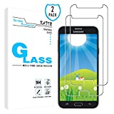 samsung galaxy j7 prime 2 KATIN Galaxy J7 2017 Screen Protector - [2-Pack] Tempered Glass for Samsung Galaxy J7 Prime / J7 Perx / J7 Sky Pro / J7 V / J7 Perx Easy to Install, Bubble Free with Lifetime Replacement Warranty