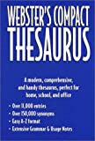 Webster's Compact Thesaurus, Outlet Book Company Staff and Random House Value Publishing Staff, 0517218895