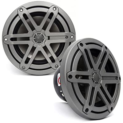 "MX650-CCX-SG-TB - JL Audio 6.5"" 2-Way Marine Cockpit Coaxial MX Series Speakers (Titanium)"