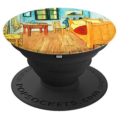 Bedroom in Arles Painting Art Vincent Van Gogh Pop Mount - PopSockets Grip and Stand for Phones and Tablets