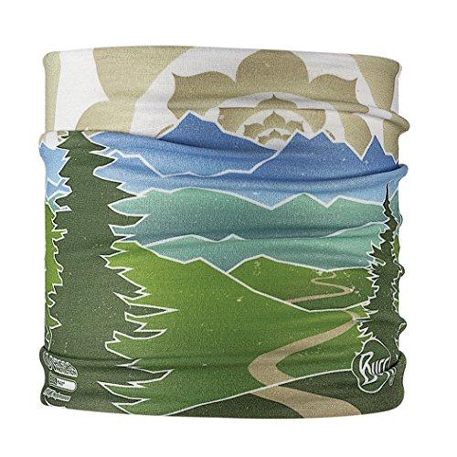 Buff Unisex UV Multifunctional Headband, BCPP Peaceful Path Green, OSFM Coolmax Headband