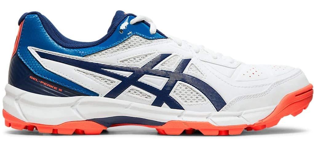 Amazon price history for ASICS Men's White/Blue Expanse Cricket Shoes-12 UK (48 EU) (13 US) (P613Y)