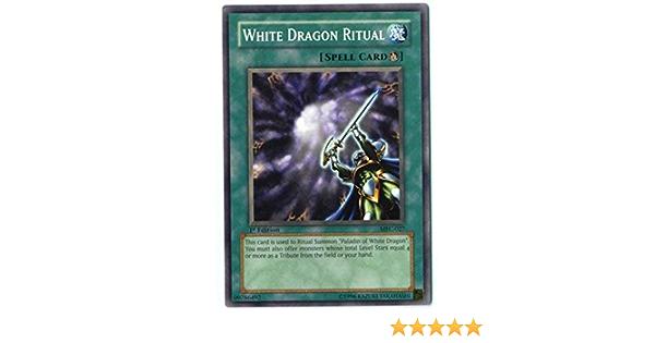 White Dragon Ritual Common M//NM Unlimited Edition  YuGiOh 1x MFC-027