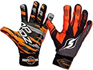 Hoop Handz Basketball Weighted Training Gloves (Anti-Grip), Over 3 lbs. Per Pair, More Powerful Dribbling