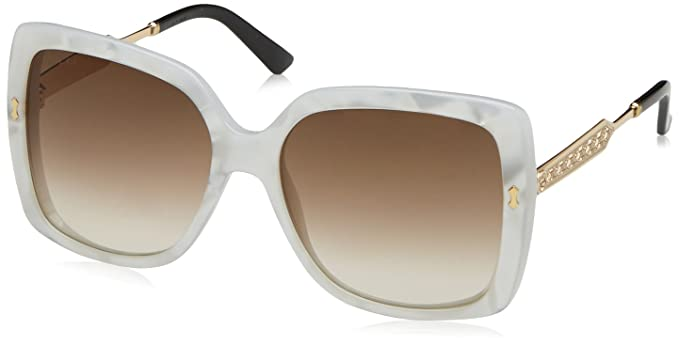 fd8f0e82a10 Sunglasses Gucci 3843/S-B 0U29 Mother Of Pearl Gold / JD brown gradient lens
