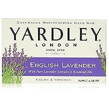 Yardley London, Bath Bar, English Lavender 130 ml (Pack of 24)