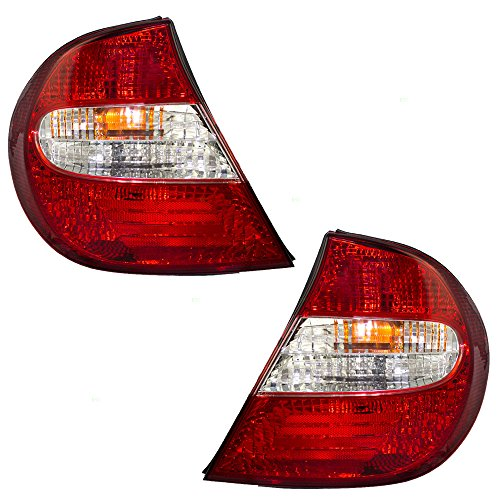 - Driver and Passenger Taillights Tail Lamps Replacement for Toyota 81560-AA050 81550-AA050