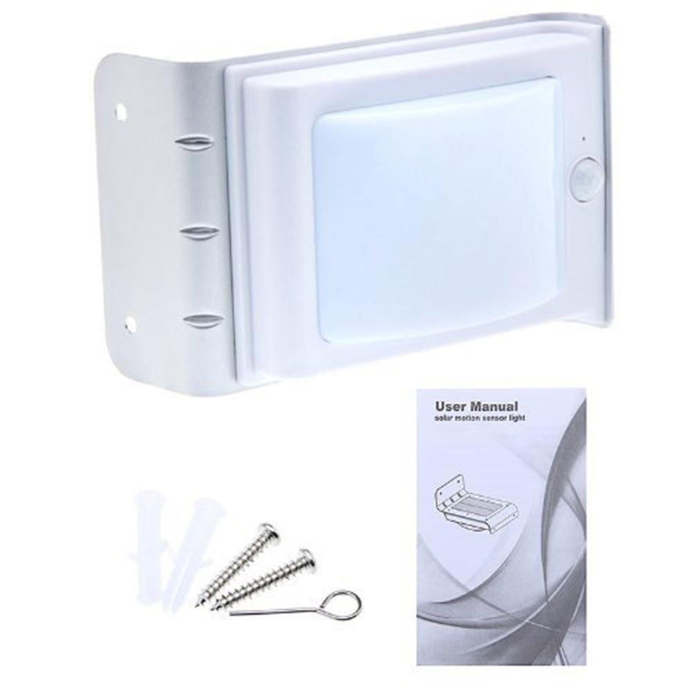 16 LED Solar Power Motion Sensor Garden Security Lamp Outdoor Waterproof Light [並行輸入品] B01M0KIPQY