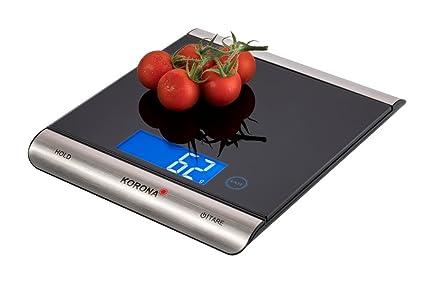 Korona Finja - Báscula de cocina eléctrica, 15 kilos, Negro: Amazon.es: Hogar