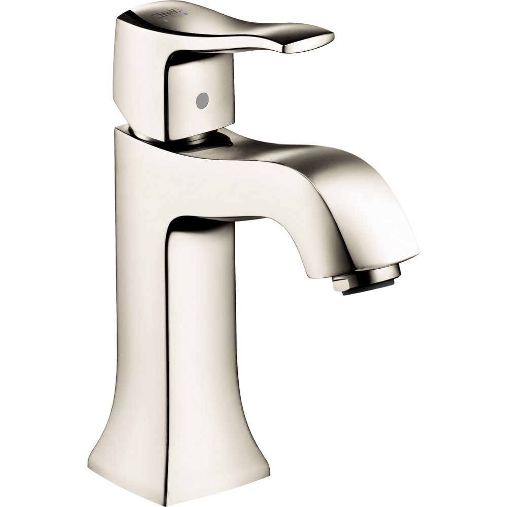 Hansgrohe 31075831 Metris C Single Hole Faucet, Polished Nickel ...