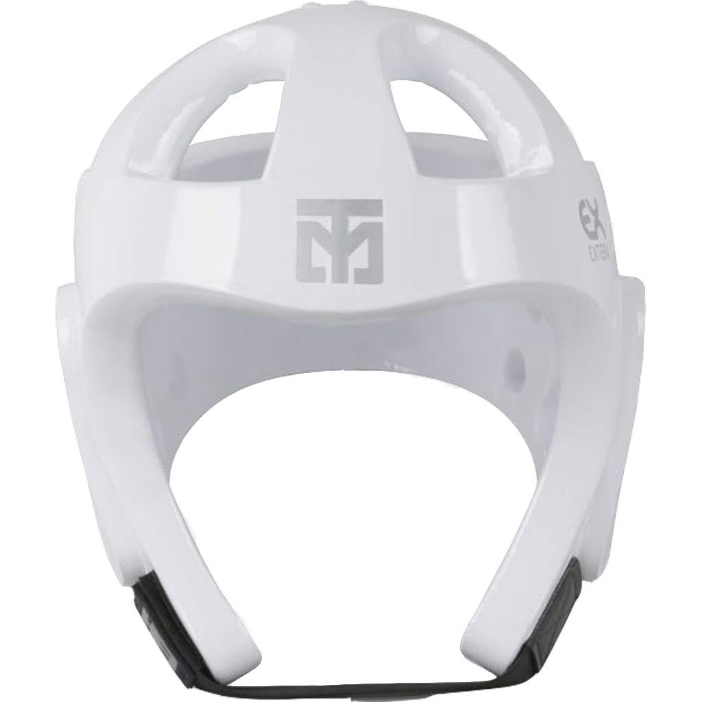 Mooto 韓国 テコンドー エクステラ S2 ヘッドギア MMA 格闘技 キックボクシング ボクシング 空手 ヘッドプロテクター ガードギア WTケガ防止 3. 白い 4. Large