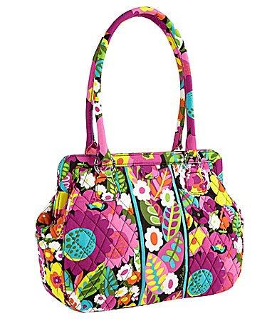 Vera Bradley Frame Bag in Va Va Bloom, Bags Central
