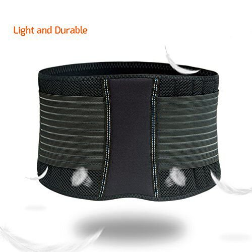 Waist Trimmer Ab Belt For Men Women 3 Adjustable Closure Waist Trainer Stomach Wrap Slimming Sauna Weight Loss Belts and lower Back Lumbar Support