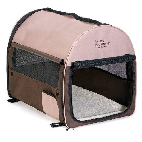 Petmate-Portable-Pet-Home-Dark-TaupeCoffee-Grounds-Brown