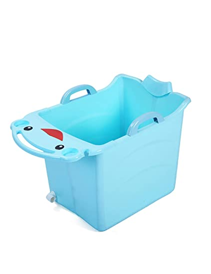 Shower Bucket Children Fold Water-saving Light and Fall Resistant ...