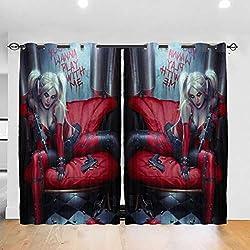 51DSFo0dW0L._AC_UL250_SR250,250_ Harley Quinn  Curtains