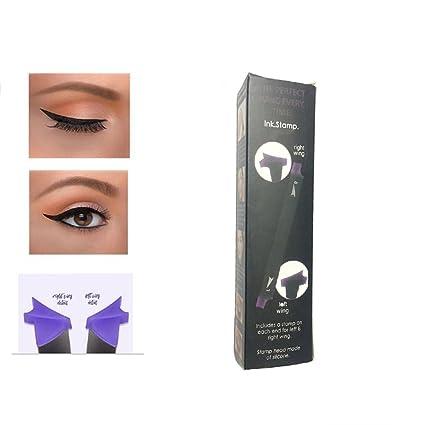 Delineador de ojos Vamp sellos ealine fácil para maquillaje sello herramienta maquillaje de ojos ala Vamp ...