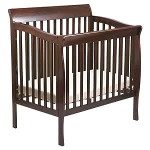 Delta Children Products Riley Mini Crib - Dark Cherry (Discontinued by Manufacturer)