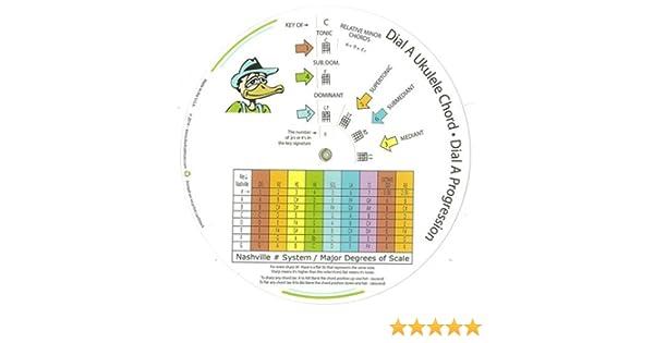 El Ukelele Chord rueda: Amazon.es: Instrumentos musicales