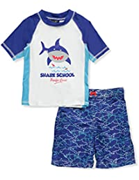 Boys' Shark Rash Guard Set