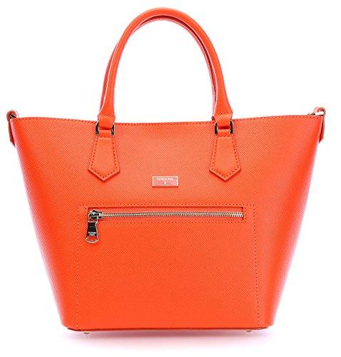PATRIZIA PEPE Candy Cadillac Borsa a mano Pelle 22 cm orange, orange