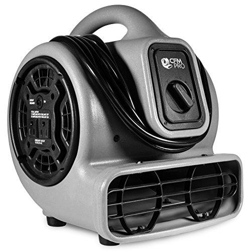 CFM Pro Air Mover Carpet Floor Dryer 3 Speed 1/5 HP Blower F