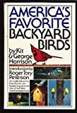 America's Favorite Backyard Birds, Kit Harrison and George H. Harrison, 0671464116