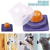 lzndeal Cats Treats Lollipop Pet Cats Snack Nutrition Cream Mint Ball Candy Pet Toys