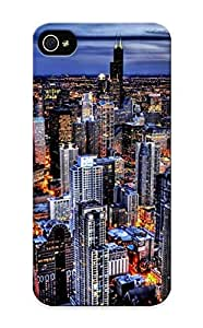 Fashion Protective Chicago Case Cover Design For Iphone 5/5s