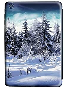 iPad Mini Cases & Covers - Snowy Forest PC Custom Soft Case Cover Protector for iPad Mini