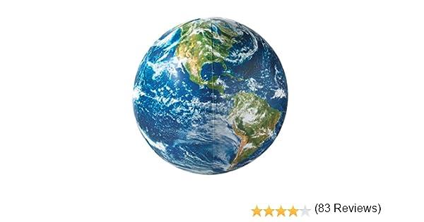 GLOBO 40 CM TERRÁQUEO NASA HINCHABLE: Amazon.es: Juguetes y juegos