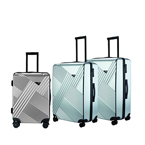 travelers-club-luggage-percey-3-piece-abs-pc-luggage-set-with-8-wheel-double-spinner-silver