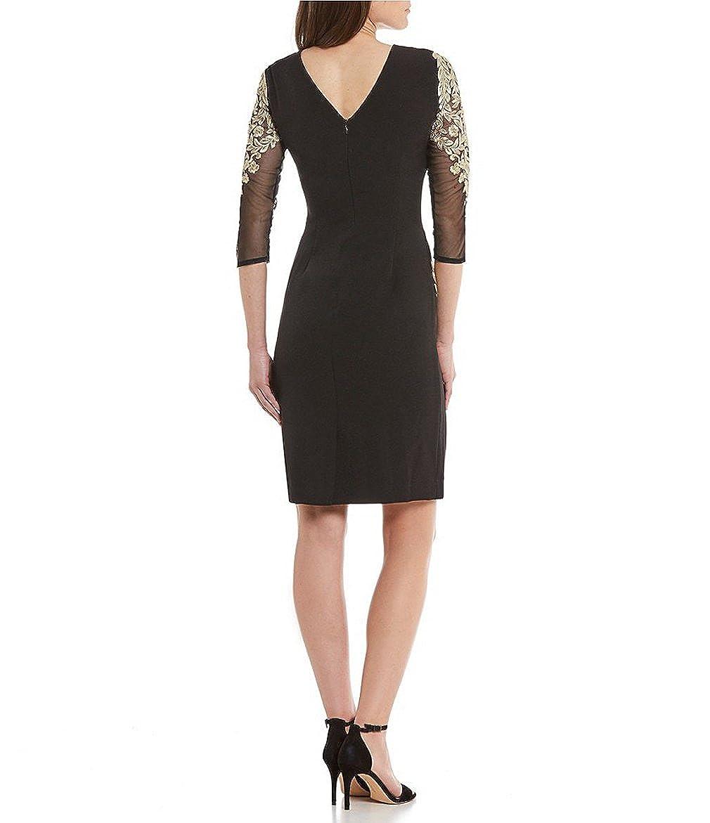 9839aeb36b0 Antonio Melani 3 4 Sleeve Sheath Dress