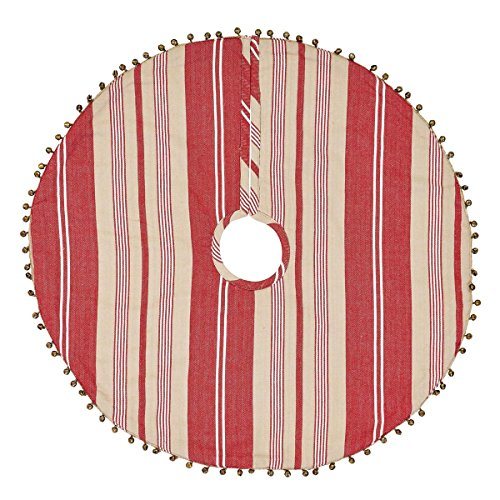 VHC Brands Vintage Stripe Mini Tree Skirt