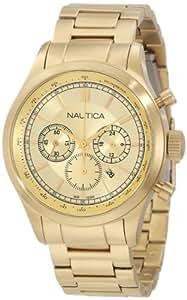 Nautica Men's N22619G BFD 104 Chronograph Movement Watch