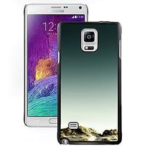 New Beautiful Custom Designed Cover Case For Samsung Galaxy Note 4 N910A N910T N910P N910V N910R4 With Sand Grass Phone Case
