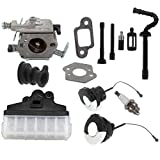 AISEN Carburetor Carb Gasket Air Filter Fuel Oil Cap for Zama C1Q-S11E C1Q-S11G for Stihl 021 023 025 MS210 MS230 MS250 Chainsaw