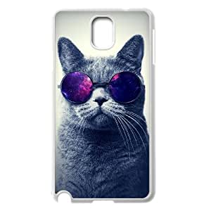 FLYBAI Cute Cats Phone Case For Samsung Galaxy note 3 N9000 [Pattern-1]