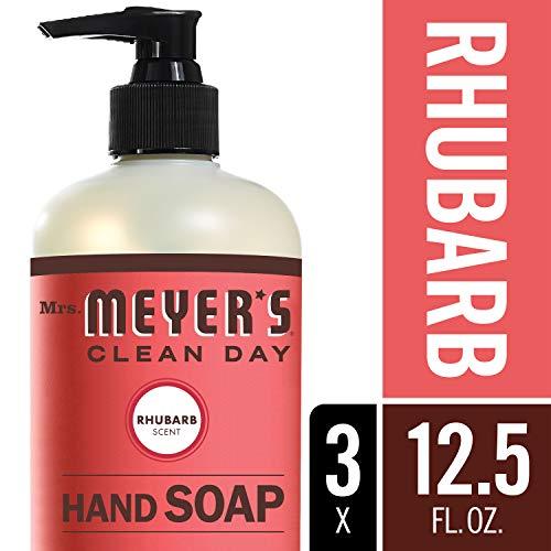 Mrs. Meyer´s Clean Day Hand Soap, Rhubarb, 12.5 fl oz, 3 ct