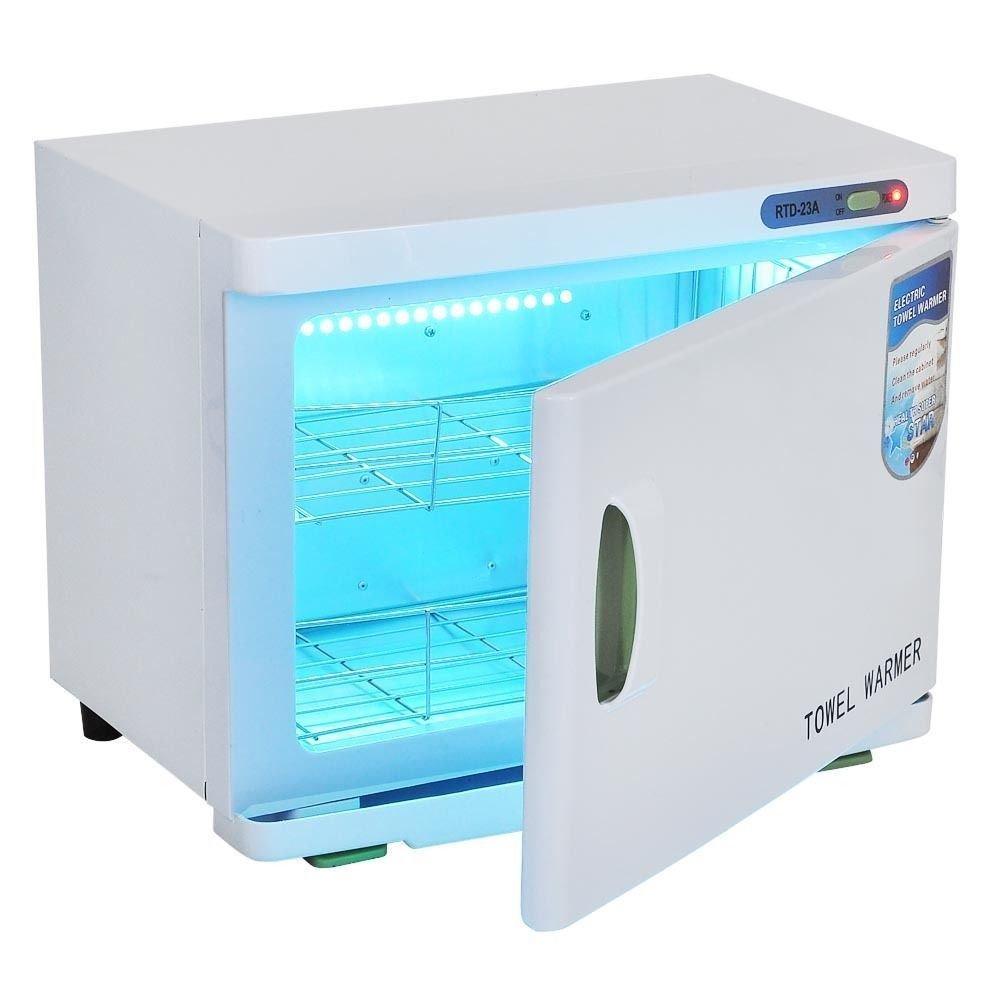 Triprel Inc Portable 2 in1 Hot Towel Warmer UV Sterilizer Cabinet Massage Beauty Salon Spa Facial - 23L