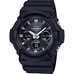 51DSKAHb21L. SS300  - Casio GAS100B-1A G-Shock Tough Solar Men's Watch Black 55.1mm Resin/Aluminum case