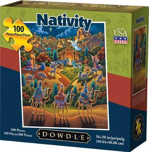 Dowdle Jigsaw Puzzle - Nativity - 100 Piece