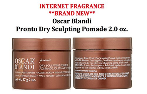 InternetFragrance] ÓSCÁR BLÁNDÍ Pronto Dry Sculpting Pomade 2.0 oz by (InternetFragrance) (Oscar Pomade)