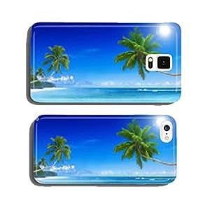 Tropical Paradise Beach cell phone cover case Samsung S6
