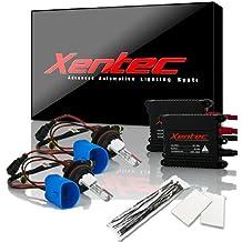 XENTEC 9007(HB5) Hi/Lo 10000K 55W Advanced Slim Ballast HID Xenon Kit w/ Hi-beam Halogen (Brillant Blue)