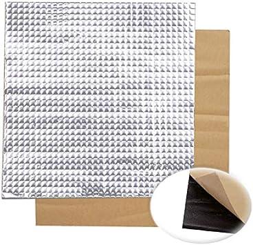 QuickShop 200 x 200 x 10 mm papel de aluminio autoadhesivo aislante de calor algodón para impresora 3D Ender-3 cama climatizada: Amazon.es: Bricolaje y herramientas